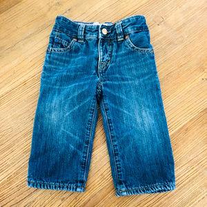 Baby Gap Jersey Lined Denim Jeans